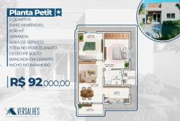 Título do anúncio: Casas Versalhes - Casas à partir de R$92.000!