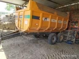Título do anúncio:  carreta vagão basculante Triton 7 toneladas