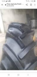 Vendo pneu agrícola Pirelli tamanho 16.9-30 6 lonas, estado de zero(usado)