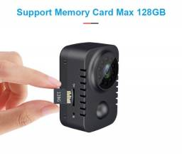 Mini Filmadora Espiã Bateria Recarregavel