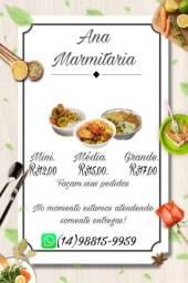 Título do anúncio: Ana Marmitaria