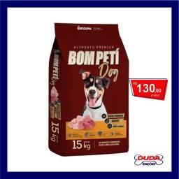 Ração Bom Peti Carne e Frango para Cães Adultos Raças Pequenas 15kg