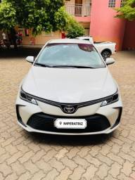 Toyota Corolla Branco Pérola 2021