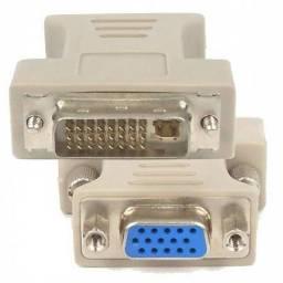 Título do anúncio: Adaptador DVI para VGA