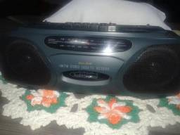 Rádio Gravador Lenox Sound Ct731
