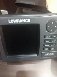Sonar e GPS Lowrance HDS-5 - 2017