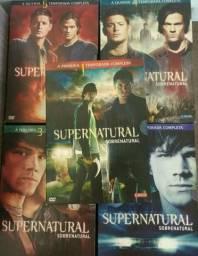 Supernatural - 5 temporadas completas (ótimo estado)