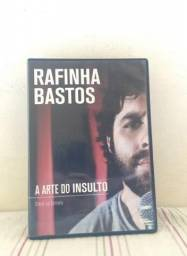 "DVD Rafinha Bastos Stand Up Comedy ""A Arte do Insulto"" Original"