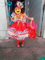 Vestido de miss caipira