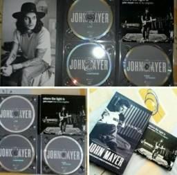 Box dos 5 primeiros CD'S do John Mayer (álbuns estúdio)