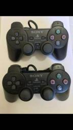 Controles do play 2 novos