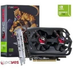 Placa de Vídeo GeForce® GT 730 128 bits 2Gb Gddr5