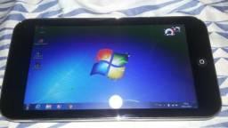 V/t Computador pc portatil tablet touch screen 10,2 pol com windows 7 Ac projetor