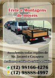 Montador de moveis e frete num só pacote disponível