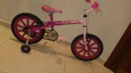 Bicicleta aro 26 da Barbie caloi