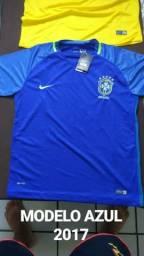 Camisa do Brasil 2018 e 2017