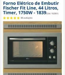 Forno elétrico embutir Fischer fit line