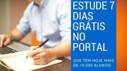 Estude 7 Dias Gratuitos no Portal que tem + de 70 Cursos!