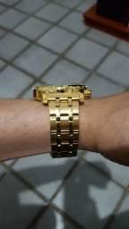 Relógio Masculino Megir Dourado