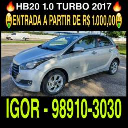Hyundai Hb20 1.0 Turbo 2017 na rafa veículos, procurar IGOR - 2017