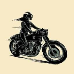 Motogirl Apenas Cidade de Guarujá