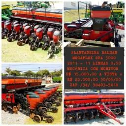 """Plantadeira Baldan Megaflex SPA 5000 ano 2011 com 11 linhas de 0,50"""""""