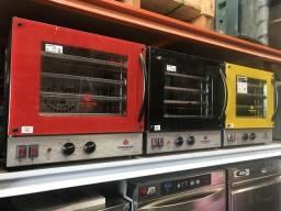 ?? forno turbo elétrica 4 assadeiras pronta entrega
