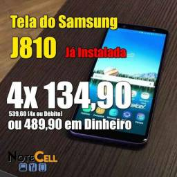Tela Samsung J8 - Amoled