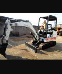 Mini Escavadeira Bobcat Ano 2001