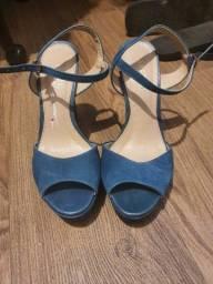 Sandália Arezzo Azul