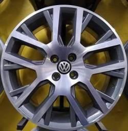 Roda saveiro cross com pneu