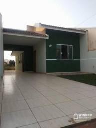 Casa com 2 dormitórios para alugar, 63 m² por R$ 600/mês - Jardim Ipe - Mandaguaçu/PR