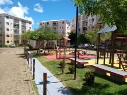 Apartamento de 2/4 mobiliado no condomínio riviera - buraquinho