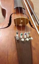 Rabeca luthier Ricardo Bressan com micro-afinação