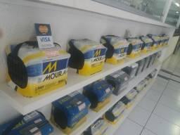 Bateria Moura 50 amperes a base de troca entrega grátis curitiba e região
