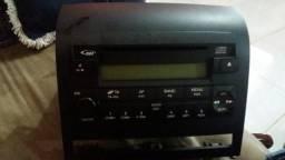 Rádio integrado fiat Idea 2007
