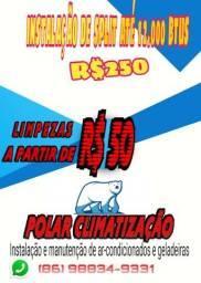 Polar climatização