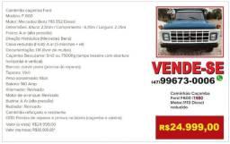 Caminhão caçamba basculante Motor Mercedez Benz 1113 Diesel Reduzido - 1983
