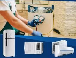 Título do anúncio: Limpeza e instalação de ar condicionado são Gonçalo