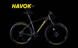 Bike Audax Havok Aro 29 semi nova