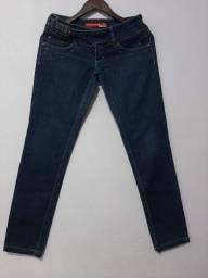 Calça Jeans azul Patogê