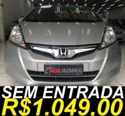 Honda Fit Lx 1.4 Flex 2014 Automático Ùnico Dono