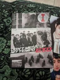 Álbum Kpop Exo DON'T MESS UP MY TEMPO Completo com Photocard