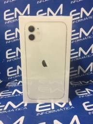 IPhone 11 128GB Branco -Lacrado -aceito seu iphone usado como entrada