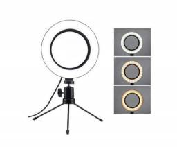 Ring Light de Mesa 16 cm (6 Polegadas)