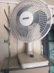 Vendo ventilador arno. 40cm. R$90,00