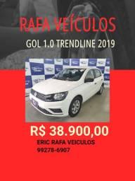 Gol 1.0 Trendline 2019 R$ 38.900,00 - Rafa Veiculos - Eric seg
