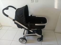 Carrinho de bebê Epic Lite com Moisés e bebe conforto removíveis