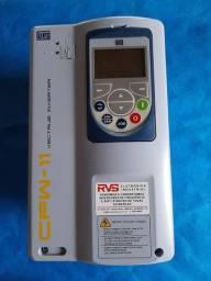 Inversor de Frequência WEG CFW11 220V Trifásico 10A 3CV