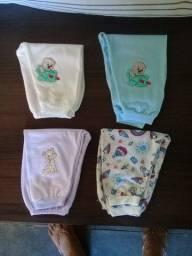 Kit 4 Calças de Bebê